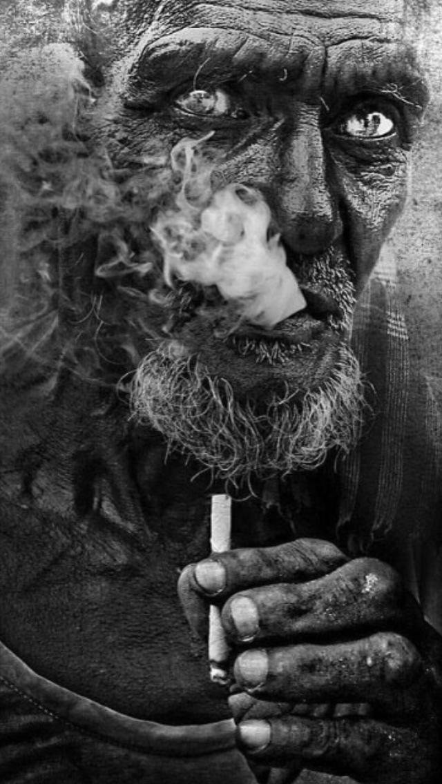 Černé pouliční kouření