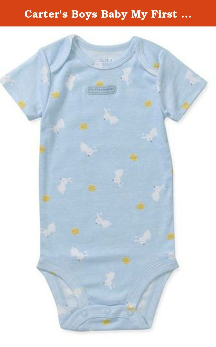 Carter S Boys Baby My First Easter Bodysuit Dress Up Outfit Newborn Size Newborn Height 21 5 Inches Weight 5 8 Bodysuit Dress Dress Up Outfits Bodysuit