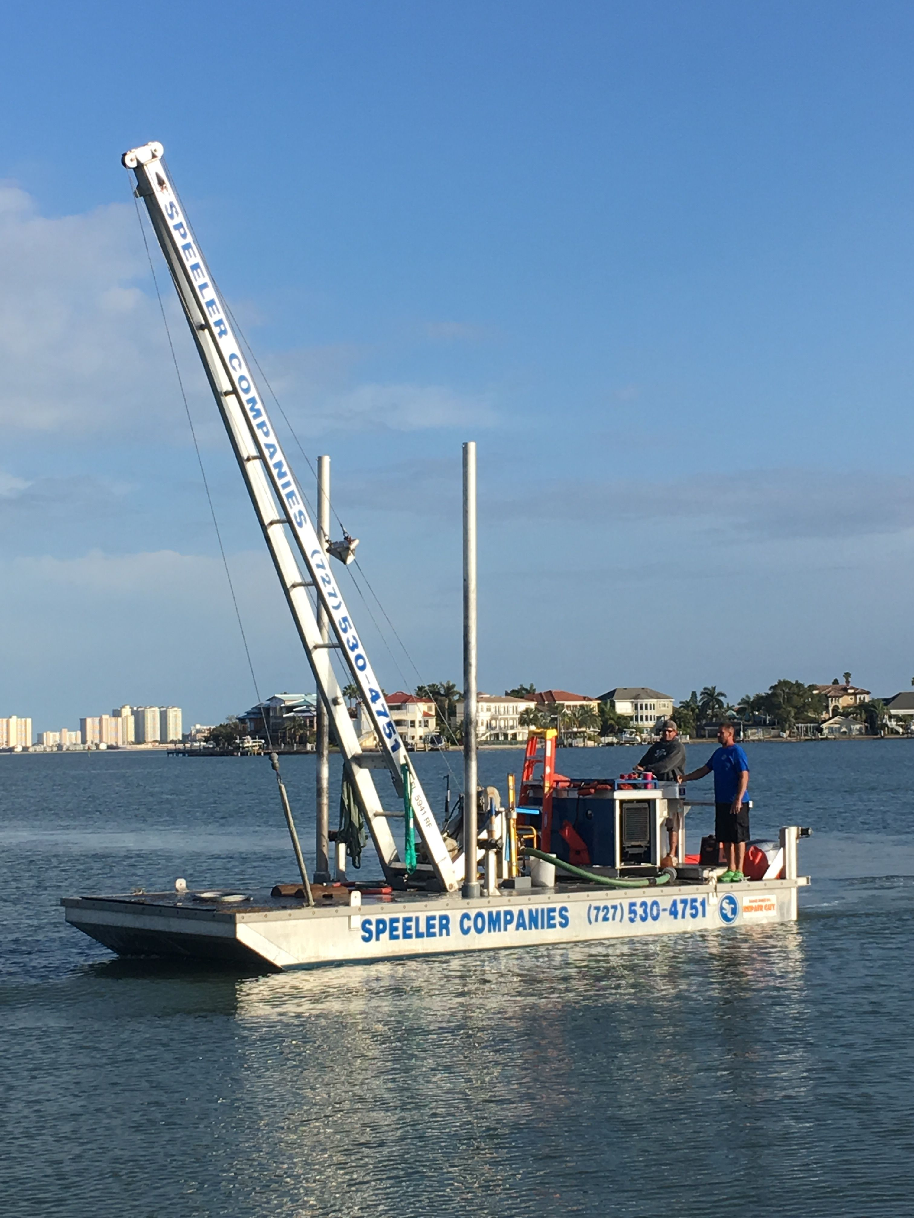 Aluminum Dock Barge By Repair Guy 4u In 2019 Boat Metal Working