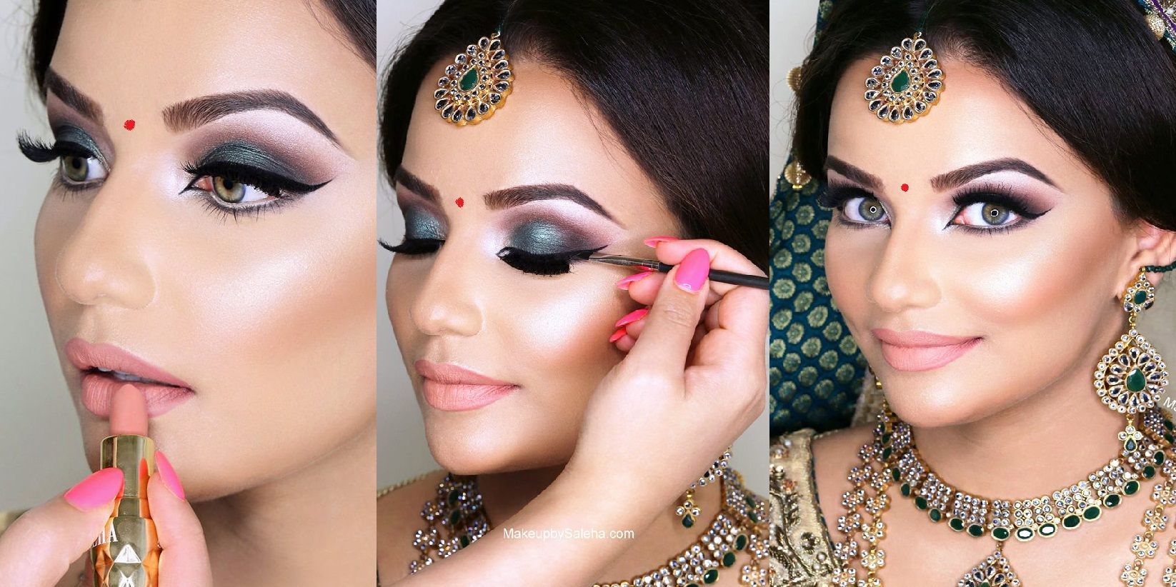 Indian Bridal Wedding Makeup Step by Step Tutorial 2019