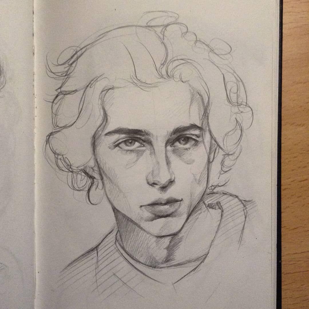Photo of Anaïs Instagram: Todella näkäräinen (Ill koskaan kyllästy piirustus Timmy) || @tchalamet