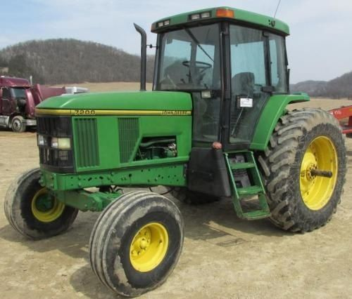 john deere 7200 and 7400 2wd or mfwd tractors service repair manual rh pinterest com John Deere GT245 Manual john deere 6530 service manual