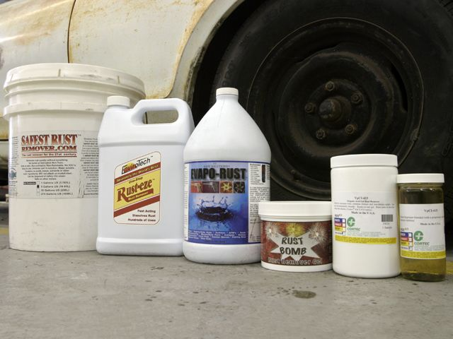 Rust Removal Guide How To Derust Classic Cars Hot Rod Magazine How To Remove Rust Hot Rods Rust