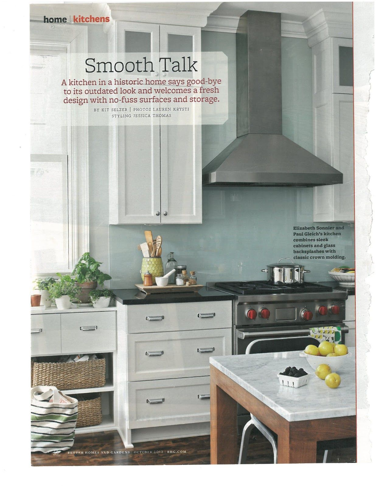 appealing light green kitchen walls white cabinets | White cabinets, black counters, and light blue/green walls ...