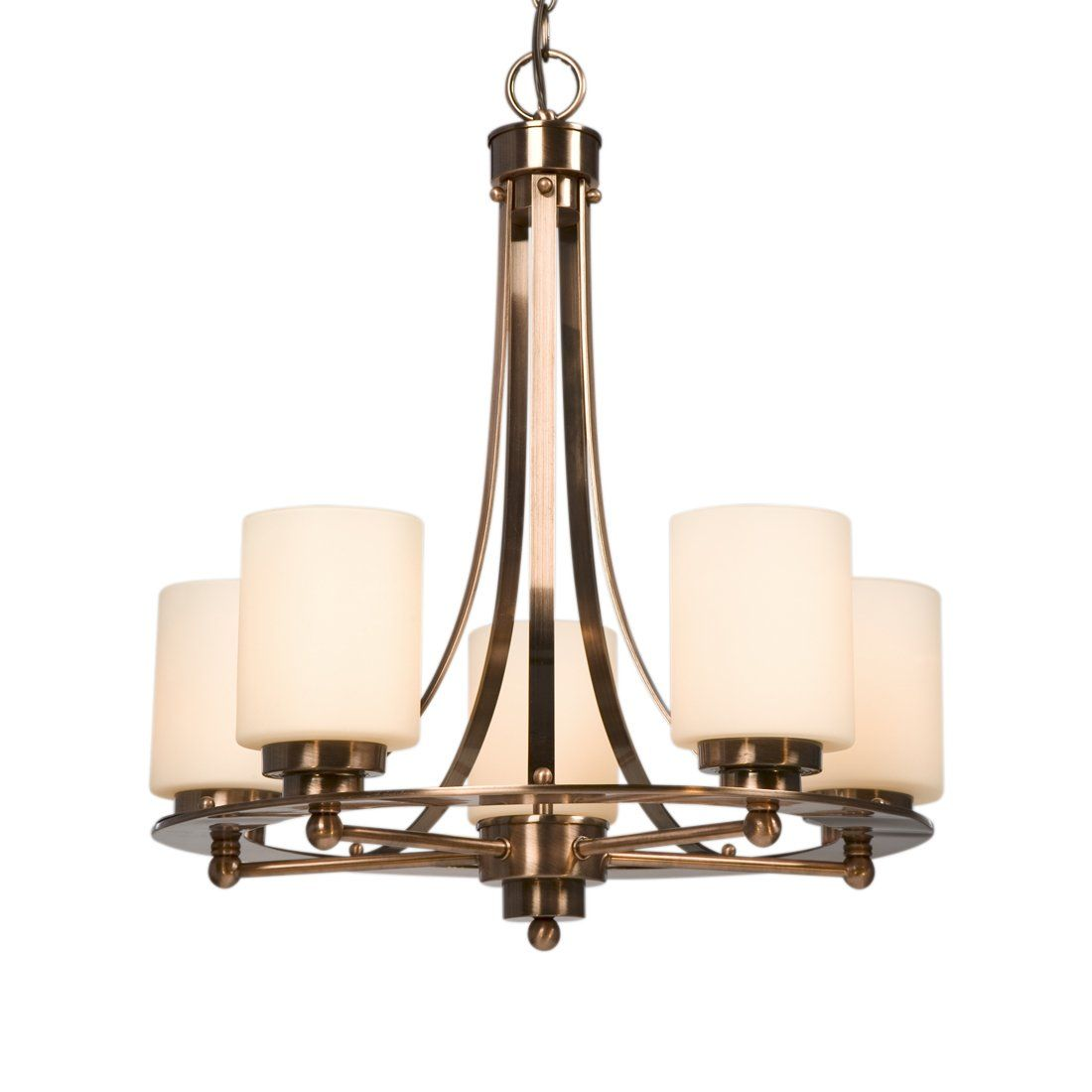 Galaxy Lighting Shop Galaxy Lighting 800423acp Logan 5 Light Chandelier At Atg
