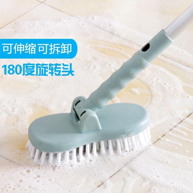 2027 A Long Handle Telescopic Aluminum Alloy Floor Brush Cleaning