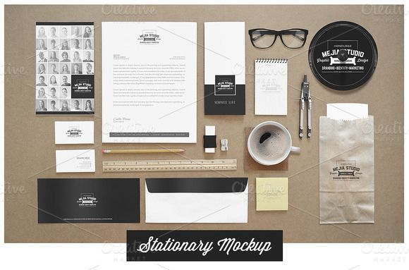 Identity Branding Mock Ups Branding Mockups Branding Stationary Mockup