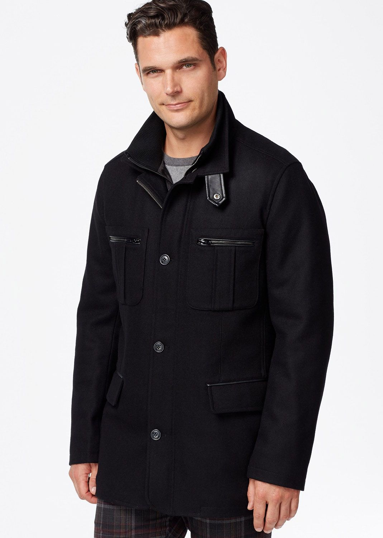 Cole Haan Melton Jacket & Reviews Coats & Jackets Men