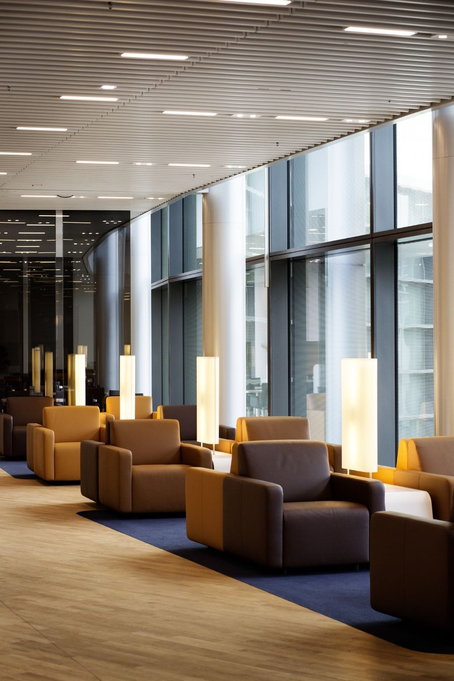 Photos Lufthansa's new lounges at Frankfurt Airport in