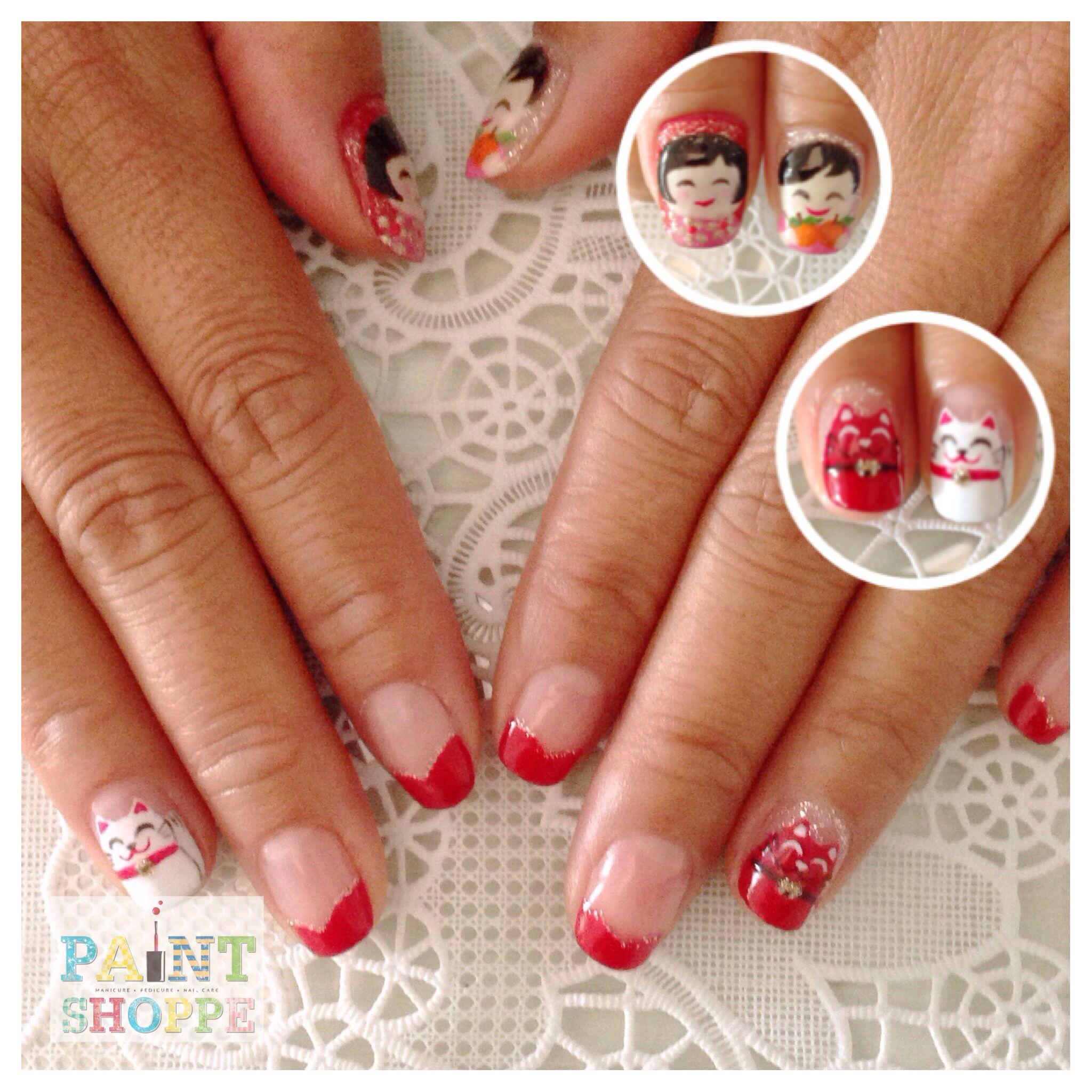 Chinese New Year #paintshoppenails #eastcoastroad #singapore #nails ...