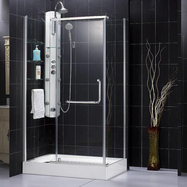30 inch shower stall enclosures | Shower Enclosure - Panorama 30 7/8 ...