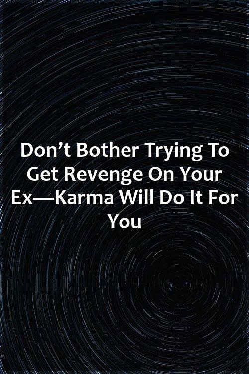 Never get married the revenge
