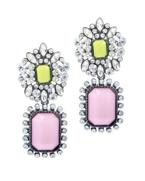 P.S. I Love You More Boutique | Pink Pave Splendor Earrings | www.psiloveyoumoreboutique.com