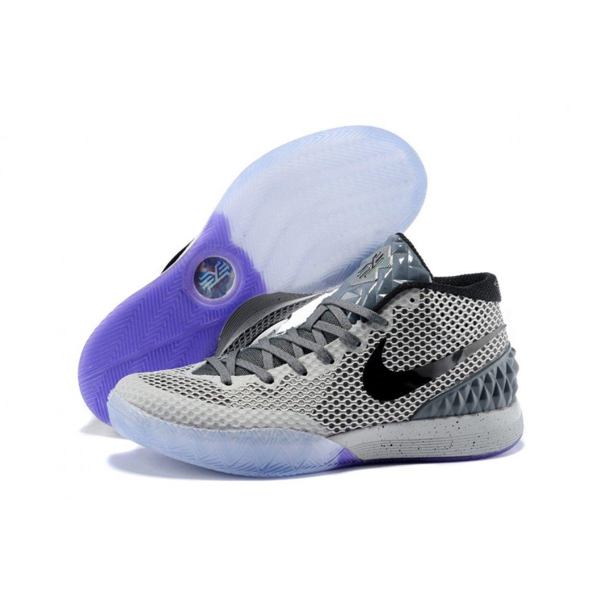 eb31bda2c659 coupon code nike kyrie 1 2015 grey black purple basketball shoes 65a72 6f75e
