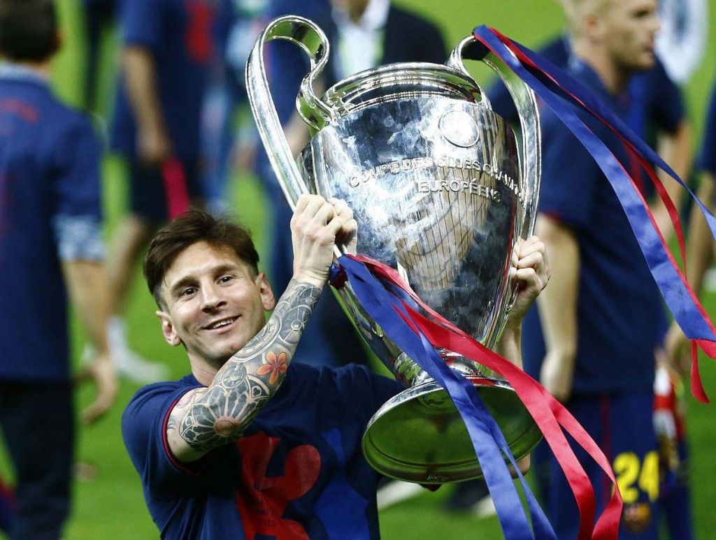 Image result for Messi CL winner