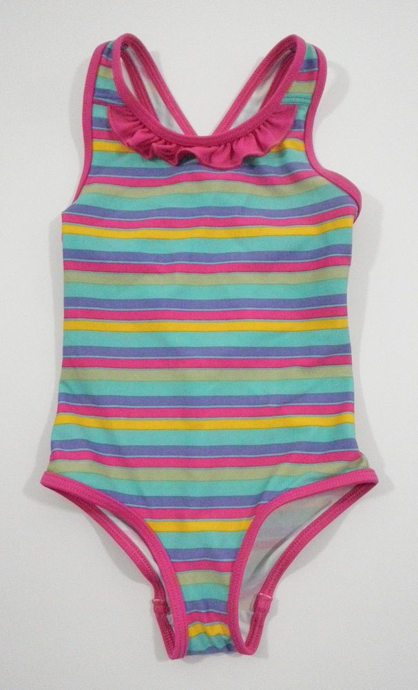 0c2383d69bf3c Patagonia Baby Girls 2T QT Swimsuit Bathing Suit Pink Stripe Ruffle One  Piece #Patagonia #patagoniagirl #patagoniababy #bathingsuit #swimsuit  #stripes ...