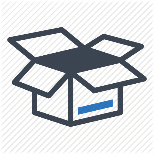 Delivery Moving Package Real Estate Open Box Icon Download On Iconfinder Box Icon Free Printable Stickers Icon