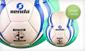 Groupon - Fair-Trade Soccer Balls (Up to 43% Off) in Berkeley. Groupon deal price: $20.0.00