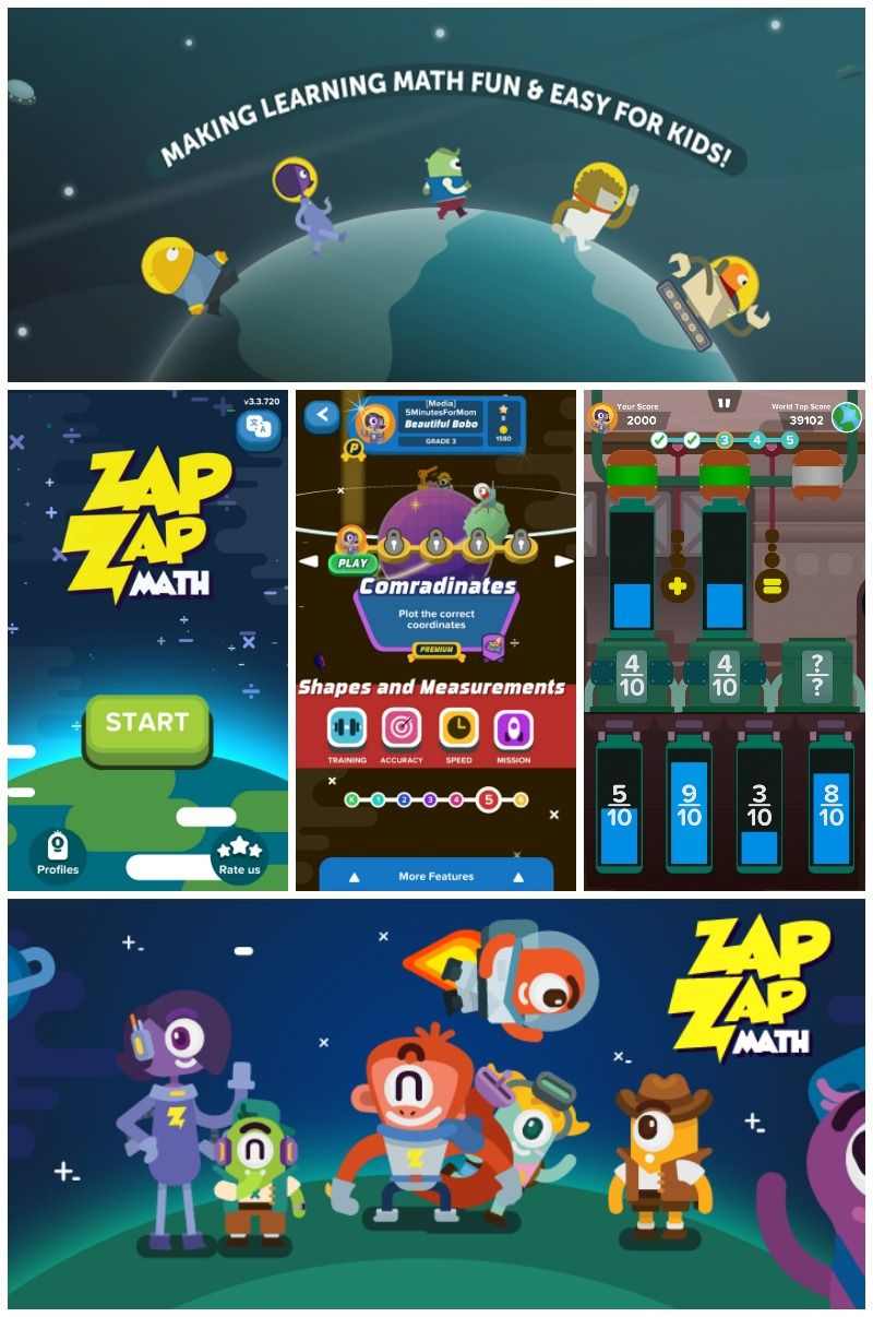 Worried About Math Summer Slide? Get Your Kids Playing Zap