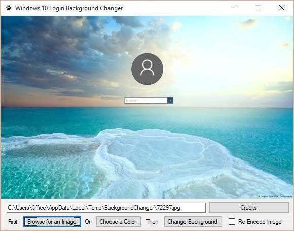 Windows 10 Login Background Changer Tool Windows 10 Windows Background