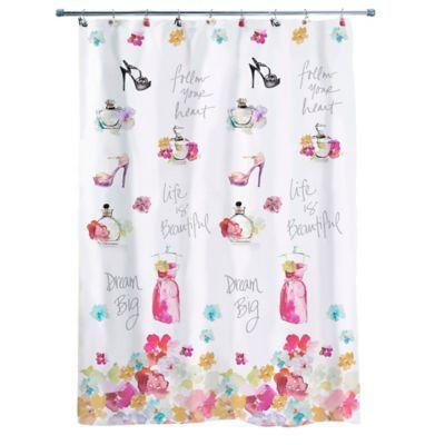 Avanti Dream Big 54 X 72 Shower Curtain Multi Big Shower Curtains Dream Big