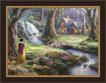 Snow White Discovers Cottage
