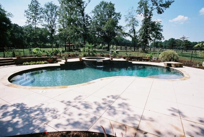 Pin By Rachel Goodwin On There S No Place Like Home Backyard Vacation Pool Builders Swimming Pool Builder