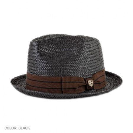 c95f275d Castor Toyo Straw Fedora Hat | Men's Wear - clothing, shoes ...