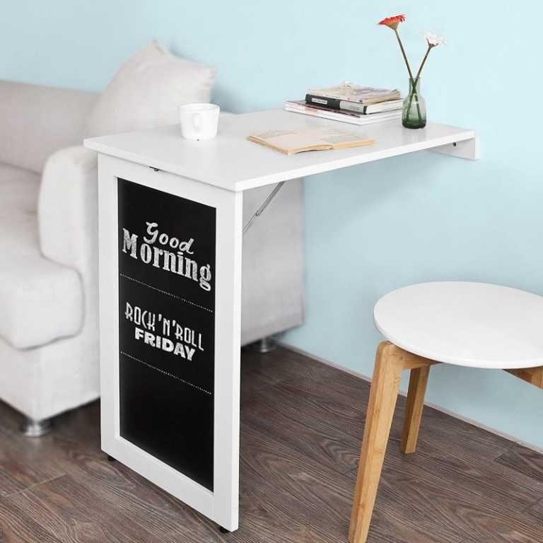 Idees Bureaux Tables Tiny House France Idee Bureau Bureau Pliant Mobilier Peu Encombrant