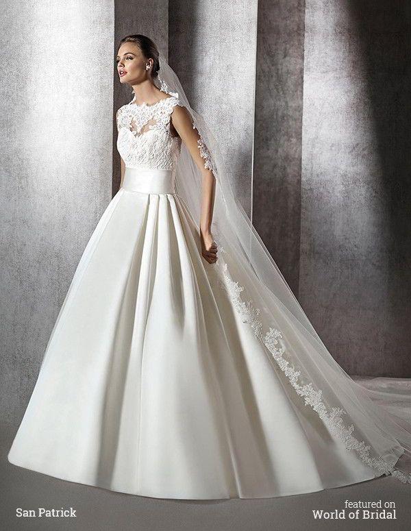 San Patrick 2016 Wedding Dresses – Part 2 | Satin sash, Princess ...