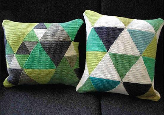 Patrones cojines ganchillo - Imagui   cojines-cushions-mantas ...