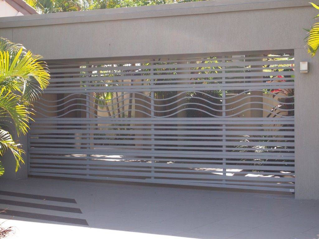 Custom Batten Style Door Airflow Garage Door Series