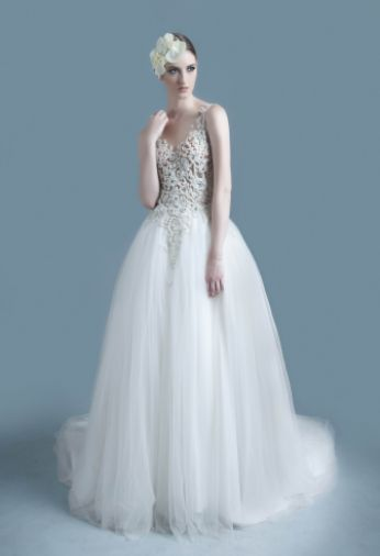 Tube Ball Gown Wedding Dress More Www Bridestory Com
