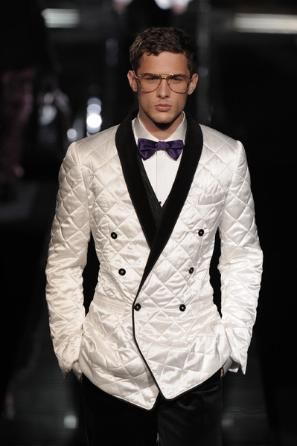 Mens Diamond Quilted Jacket