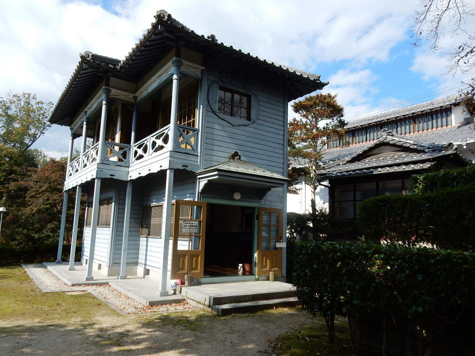 愛知県内の古建築や近代建築物等の国登録有形文化財の特別公開 豊田市