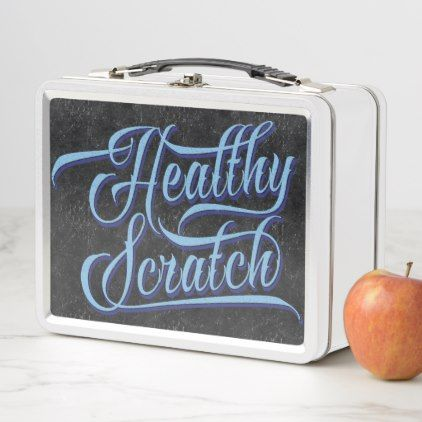 Healthy scratch hockey lunch tin metal lunch box classic gifts healthy scratch hockey lunch tin metal lunch box classic gifts gift ideas diy custom unique negle Choice Image