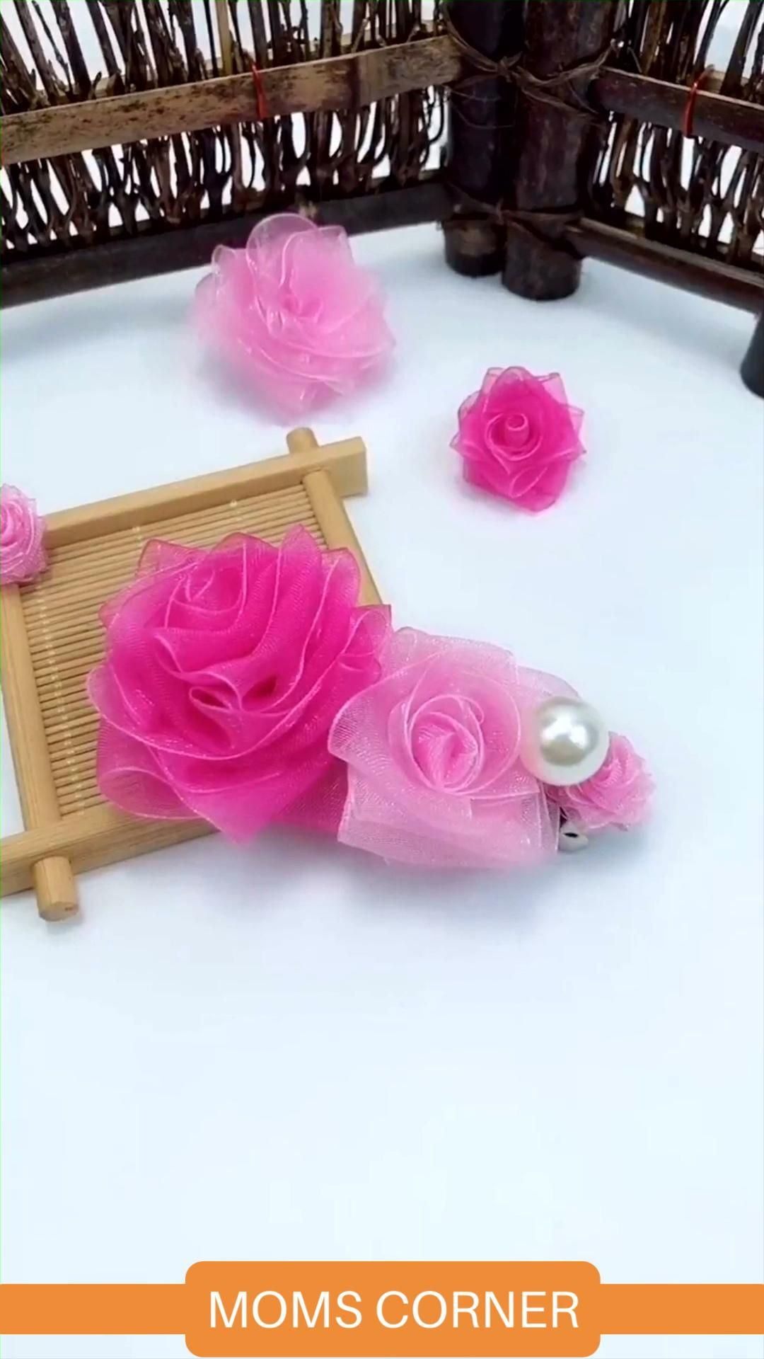 Artificial flower art