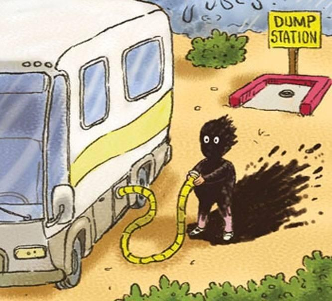 Compilation Of Funny Rv Moments With Images Camping Cartoon