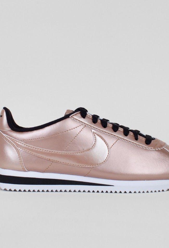 ea998a045fa34 ... best price nike womans classic cortez leather metallic red bronze voo  store 6da15 61878