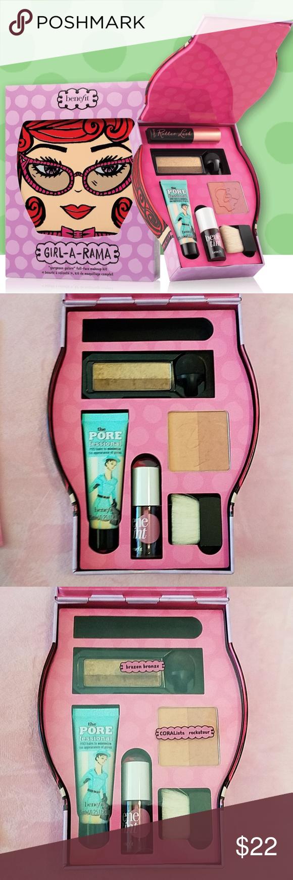 Benefit GirlARama Face makeup kit, Travel size