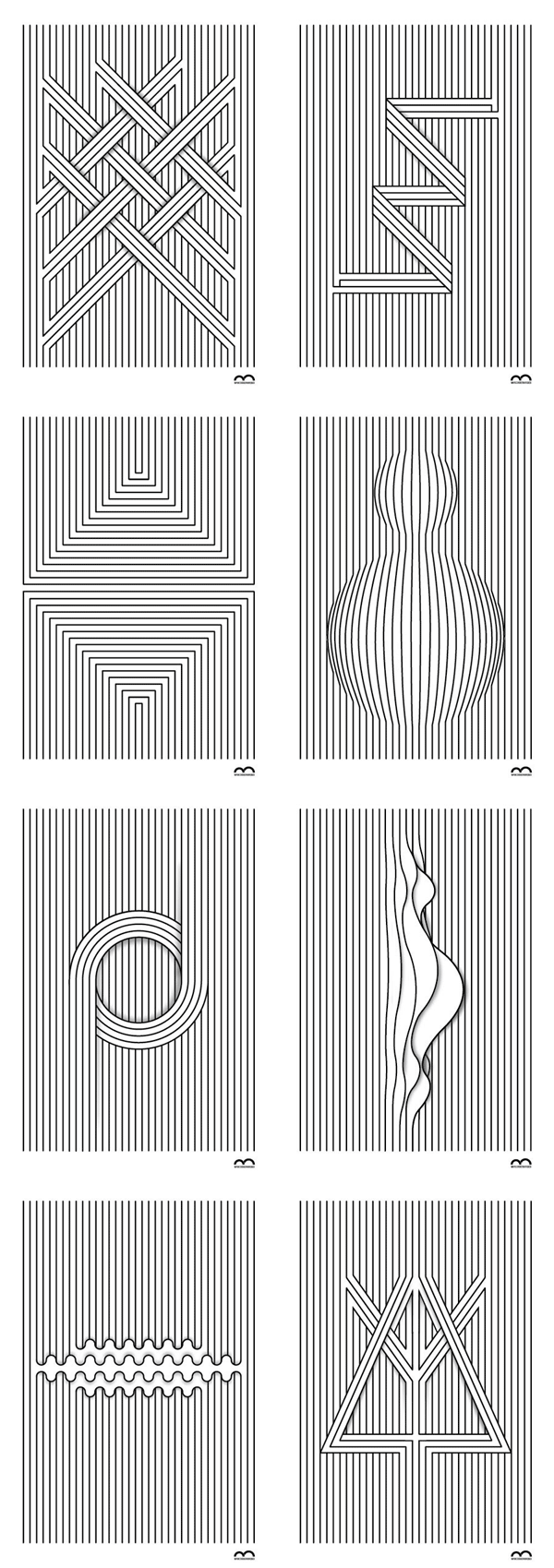 Linea - Simple Graphic Line Illustrations. Marcos Bernardes is working as a graphic designer, illustrator, and toy designer in Santa Catarina, Brazil. This