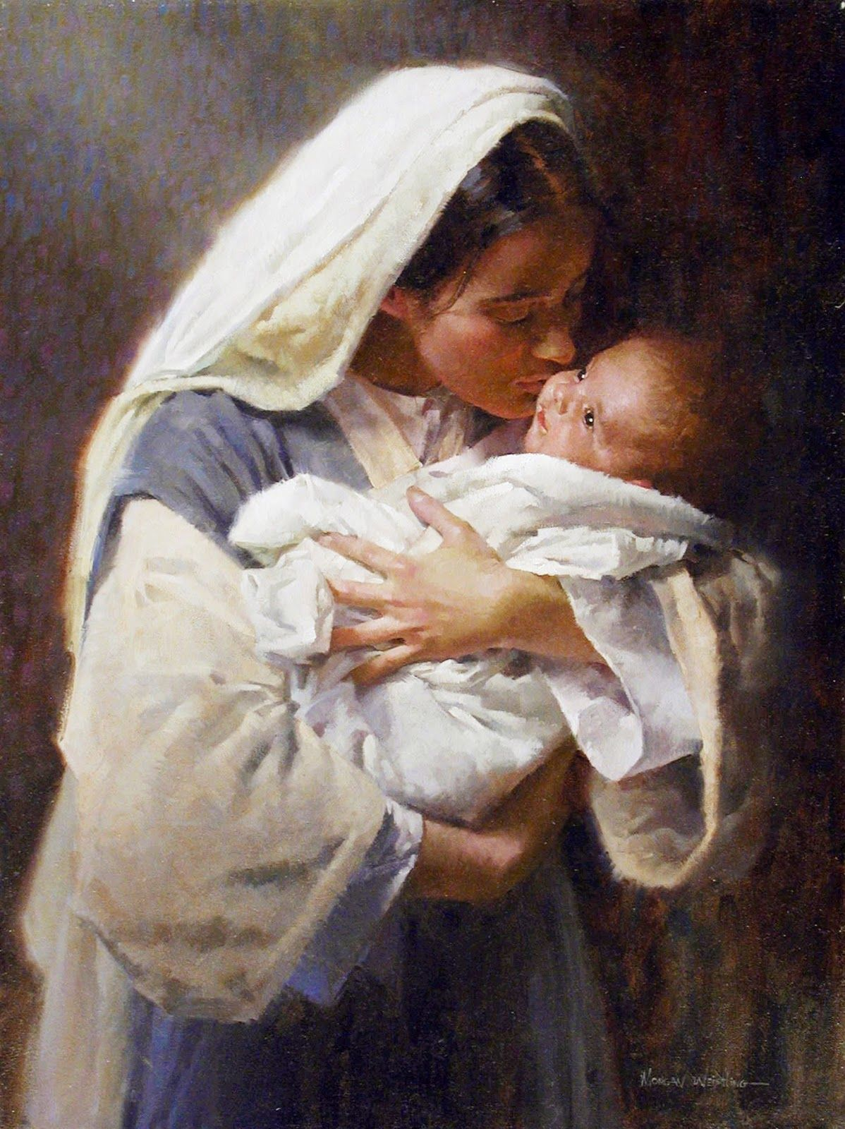 """/""""The Promise/"""" Morgan Weistling Open Edition Giclee Canvas"""