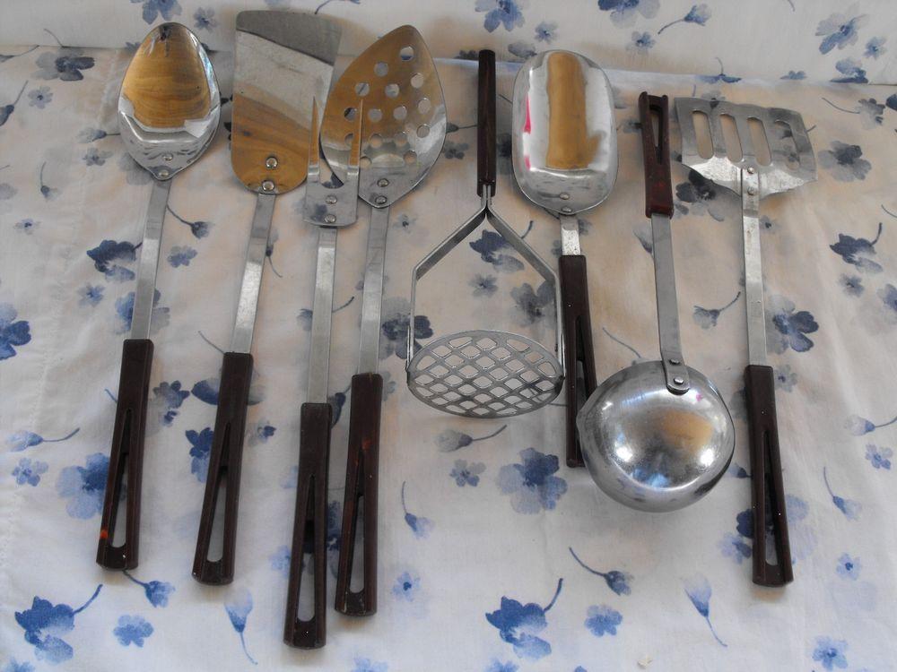 Set Of 8 Vintage Stanhome By Stanley Kitchen Utensils