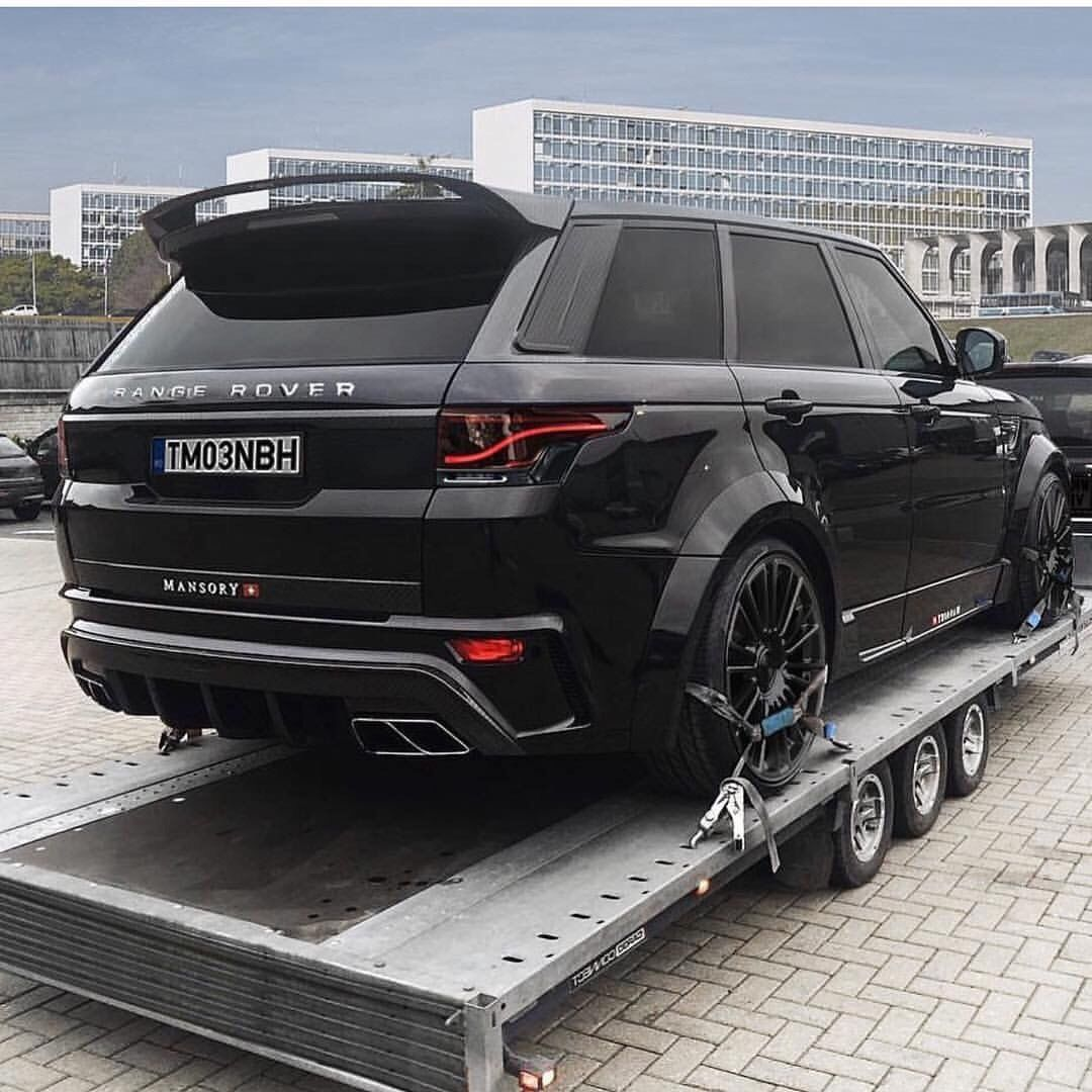land rover range rover sport mansory car design. Black Bedroom Furniture Sets. Home Design Ideas