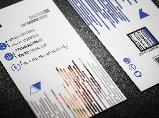 Modern printable vertical business card template psd business card modern printable vertical business card template psd colourmoves