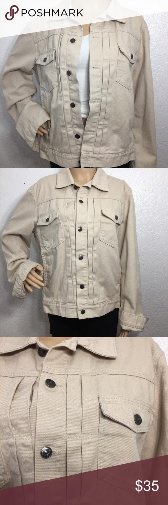 L O G G By H M Beige Jean Jacket Jackets Beige Jeans Jean Jacket [ 1740 x 580 Pixel ]
