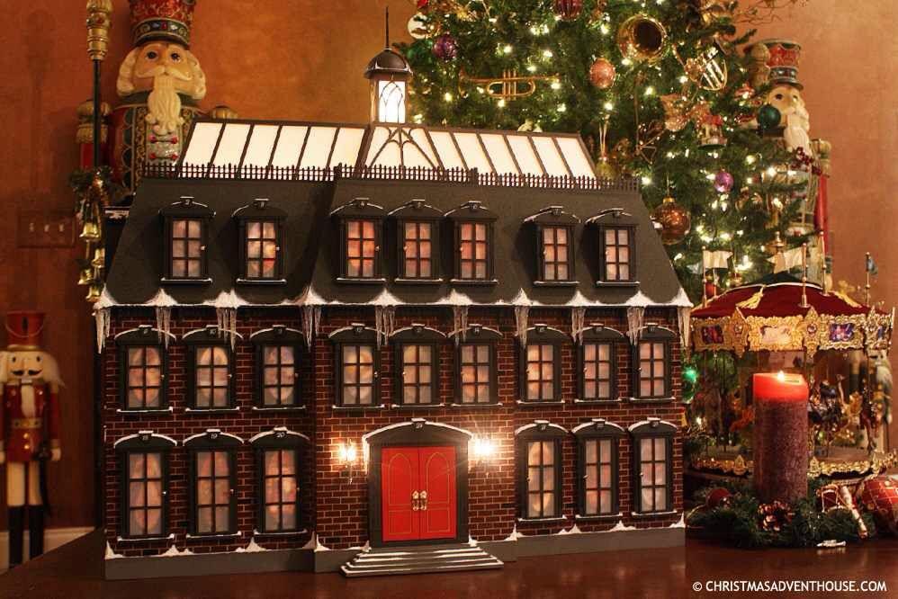 Christmas Vacation Advent House Calendar.Christmas Advent House Like The One In The Movie Christmas