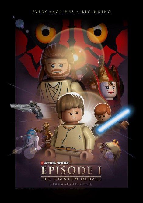lego star wars phantom menace 470x665 50 Awesome LEGO Movie ...