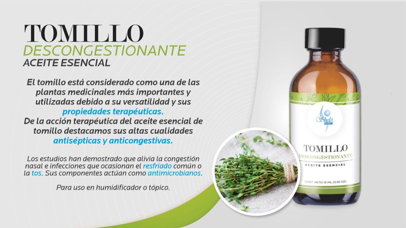 Aceite Esencial Tomillo Tomillo Aceite Hierbabuena