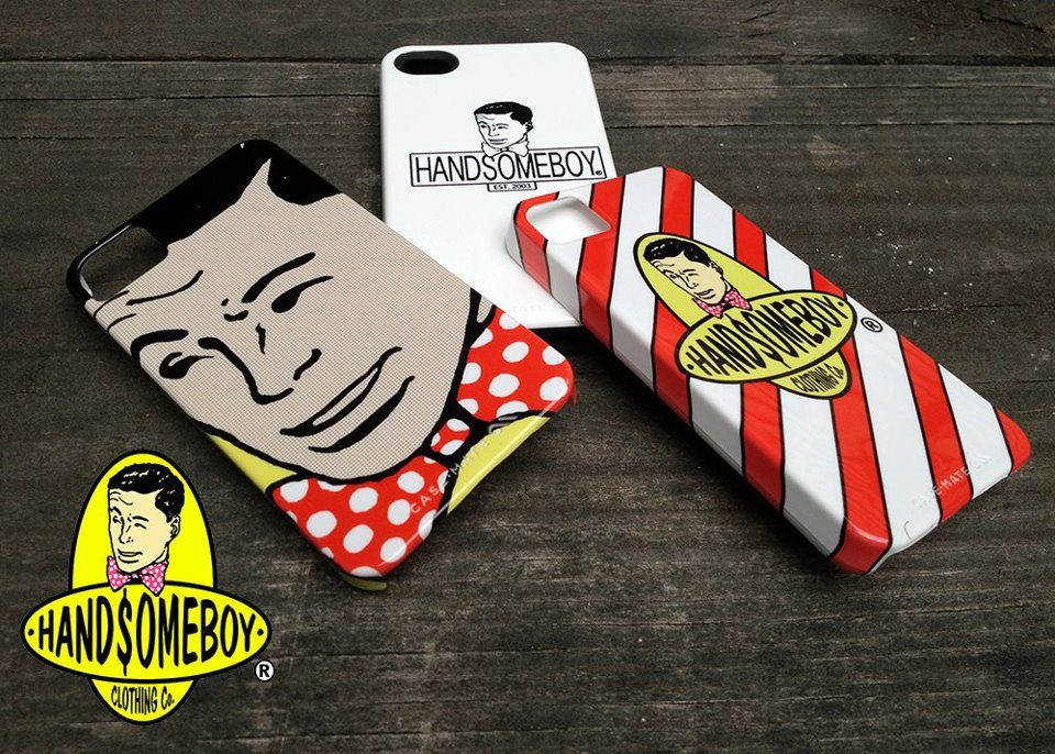 Handsome Boy x Case-Mate iPhone 5 & 4/S Phone Cases.
